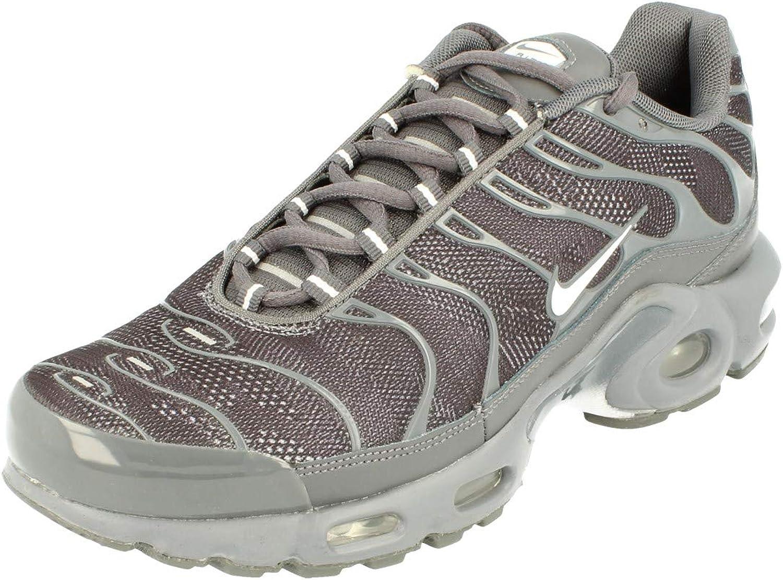 Nike Original Air Max Plus Tuned 1 TN Baskets - - Dark Grey White ...