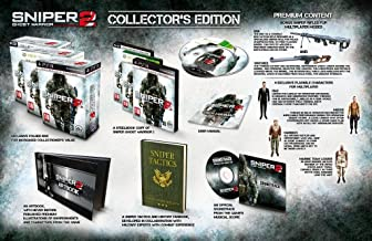 Sniper 2 Ghost Warrior Collector's Edition (Playstation 3) HD Version, HD screen required to play