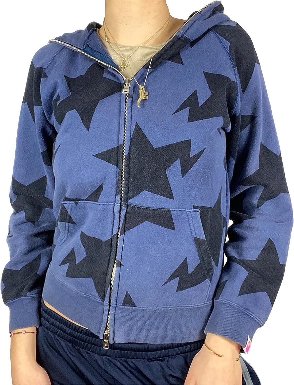 Women Y2K Long Sleeve Zip Up Hoodie Jacket Skull Vintage Casual Cardigan Sweatshirt with Pocket