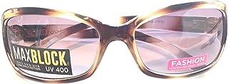 Foster Grant Adrianna MAXBLOCK Fashion Sunglasses, Tortoise, Lens 55mm