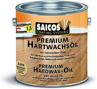 Saicos 500 3200 Seidenmatt Premium Hartwachsöl, farblos, 2,5 Liter