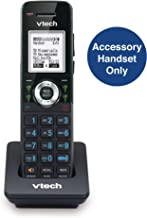 VTech AM18047 Accessory Cordless Handset, Black | Requires a VTech 4-Line Expandable Small Business Office Phone System to Operate