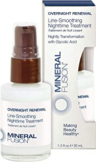 Mineral Fusion Overnight Re al Line-Smoothing Night time Treatment, 1 Ounce