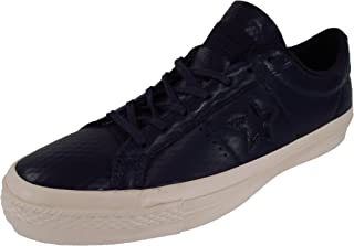 Converse One Star Leather Ox Obsidian Navy Blue Sneakers