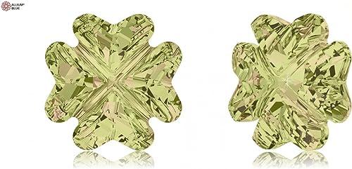 Cristaux de Swarovski 5149900 Pierres Fantaisie 4785 MM 14,0 Crystal LUMINvert F, 36 Pièces
