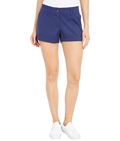 Southern Tide Leah 3 Seersucker Shorts (Nautical Navy) Women
