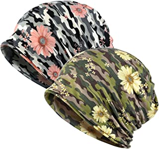 DancMolly Chemo Hats Slouchy Baggy Caps Lightweight Head Scarf Casual Beanie Multi-Use Caps