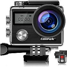 【Upgrade】 Campark X20 Action Camera Native 4K Ultra HD...