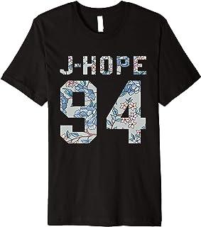 تی شرت رسمی BTS J-Hope 94 Kpop Bangtan Boys Merch BTS12FLR Premium