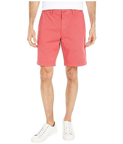 J.Crew 9 Garment-Dyed Chino Shorts (Newport Red) Men