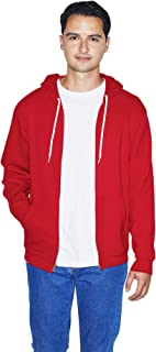 American Apparel Men's Flex Fleece Long Sleeve Zip Hoodie, F497