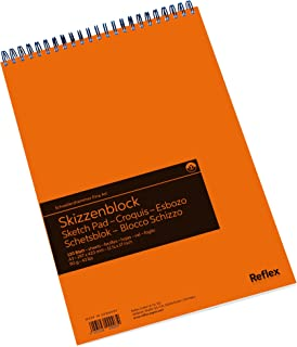 Schoellershammer Sketch Paper Pad A3, 120 Sheets, Spiral Bound, 90gsm White Paper, VF5003611