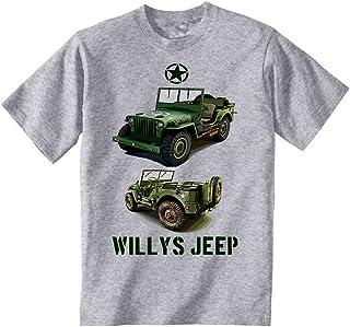 Vêtements, Accessoires Enfants Garçons Filles Américain Jeep T-shirt Armée Américaine Usa Militaire Vêtements Garçons (2-16 Ans)