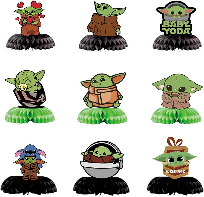 Baby Yoda Centerpieces