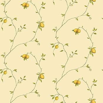 G12082 Kitchen Recipes Lemons Yellow Galerie Wallpaper Amazon Co Uk Diy Tools