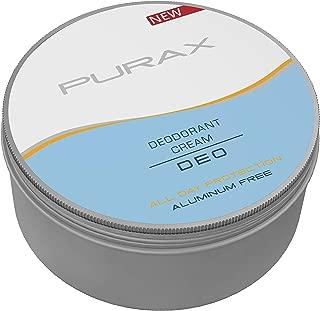Desodorante en crema Purax – Sin aluminio 80 g