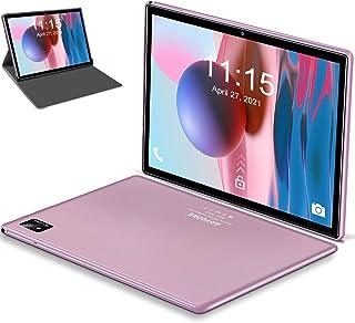 Tablet 10.1 Pulgadas Android 10 5G WiFi 4G LTE,Tableta 6GB RAM+128GB ROM /512GB,con Procesador de Octa-Core Ultrar-Rápido...