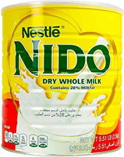 Nestle Nido Milk Powder, Imported from Holland, Specially Formulated, Fortified with Vitamins and Minerals, Easy To Prepar...