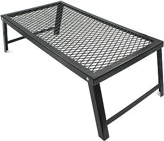 [FAVORABLE SCENERY] 折り畳み アウトドア テーブル 焚き火テーブル クッカースタンド BBQ キャップ 山ごはん 55×30cm