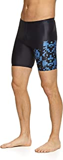 Zoggs Men's Mid Jammer Eco Fabric Swim Shorts