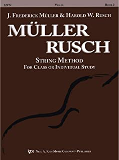Muller Rusch - String Method for Class or Individual Instruction - Violin Book 2