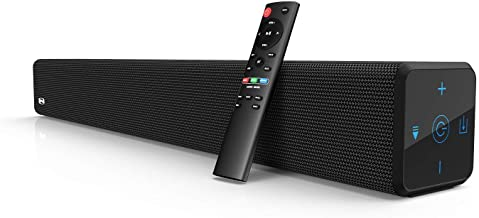 Best 2.1 Channel 100Watt Sound bar(2020 Model), Bestisan Soundbar with Built in Subwoofer Bluetooth 5.1 Surround Sound Systems (32Inches, DSP, Touch Remote Control, Bass Adjustable) Review
