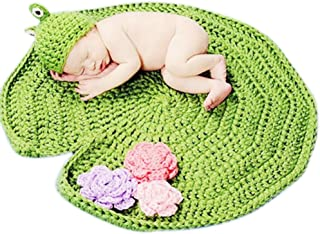 Newborn Photography Props Baby Knitting Wool Material Photography Costume Cute Animal Style Baby Crochet Clothes