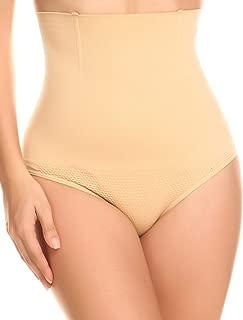 CeesyJuly Womens Shapewear High Waist Butt Lifter Thong Tummy Control Panties