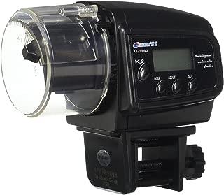 Digital Mini Automatic LCD Aquarium Fish Tank Food Feeder Timer up to 4 Feeding Times + High Accuracy Submersible Aquarium Index Thermometer