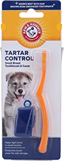 Arm & Hammer Health Kit for Dogs | With Toothpaste, Toothbrush & Fingerbrush | Tartar Control Dental Kit for All Dogs and Puppies with Baking Soda Enhanced Formula and Vanilla Ginger Flavor