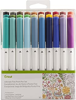 Cricut Ultimate Fine Point Pen Set, 30 Pack, Assorted