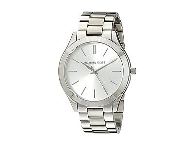 Michael Kors MK3178 Slim Runway (Silver) Watches