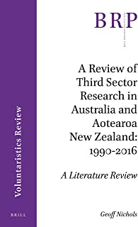 REVIEW OF 3RD SECTOR RESEARCH (Voluntaristics Review)