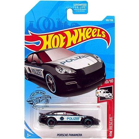 Hot Wheels Porsche Panamera HW Rescue nr 100 aus 2019 neu Polizei schwarz