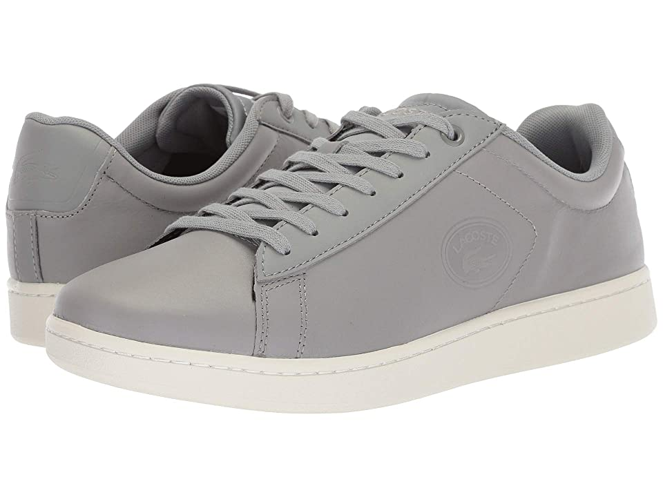 Lacoste Carnaby Evo 418 2 (Grey/Off-White) Men