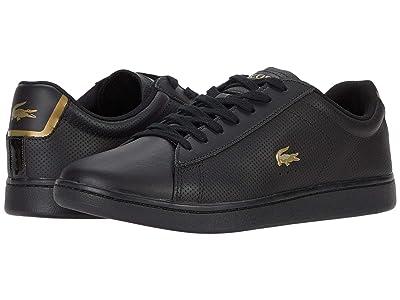 Lacoste Carnaby Evo 0120 1 (Black/Black) Men