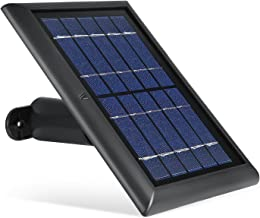 Wasserstein Ring Solar Panel Compatible with Ring Spotlight Cam & Ring Stick Up Cam (Black)