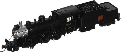 Bachmann 51753 N Steam Alco 2-6-0 Mogul w DCC -- Canadian National  6011 (schwarz, Silber)