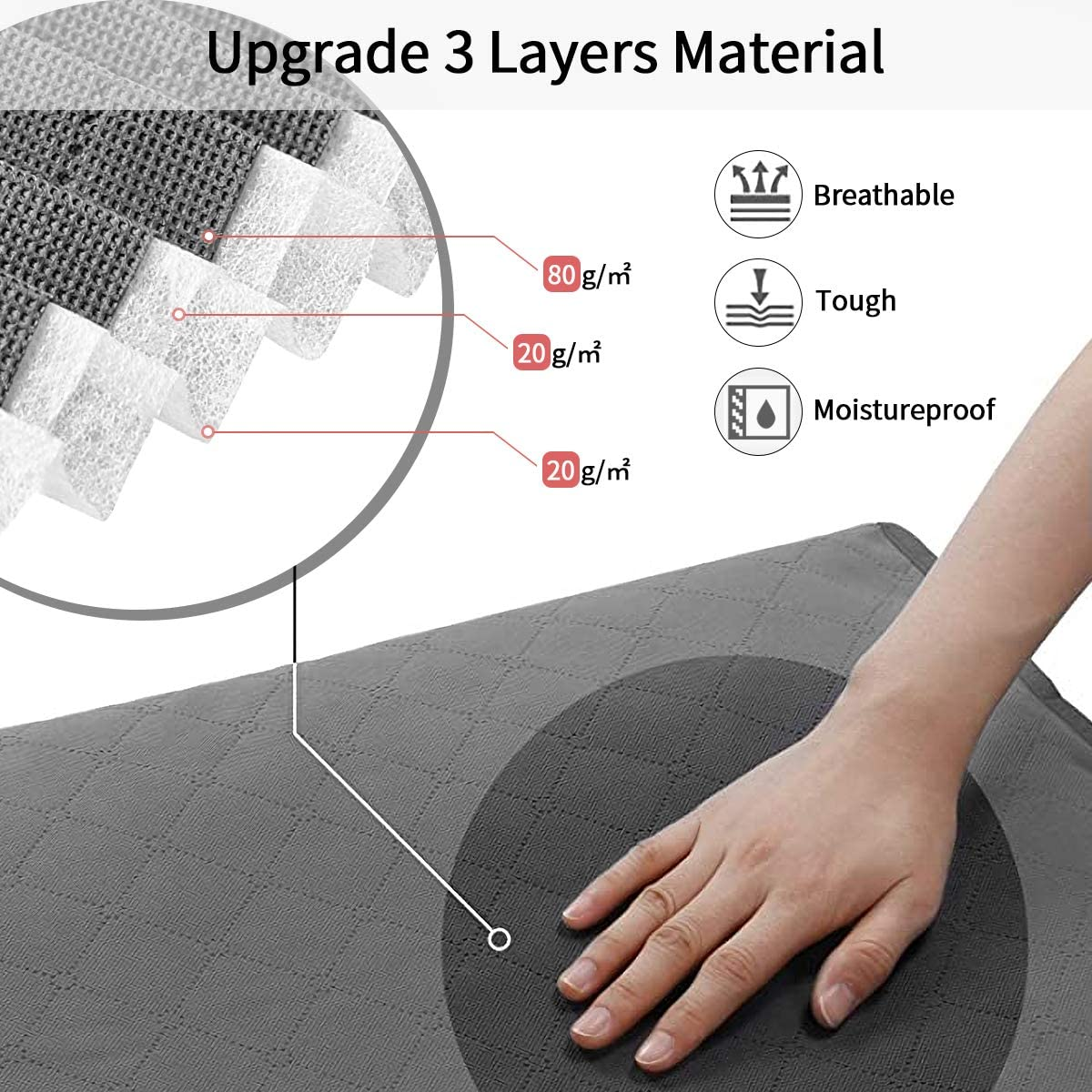 Stainless Steel Zipper,3 Layer Fabric for Comforters Clothing Coffee Bedding king do way Closet Organizer Clothes Storage Bags Large Capacity Clothing Storage with Reinforced Handle Blankets