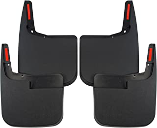 Red Hound Auto Heavy Duty Molded Mud Flaps 2015-2019 Compatible with Ford F-150 Front Rear 4pc Set (for Trucks Without Fender Flares)