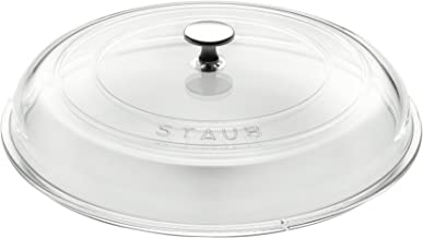 """STAUB Glass Domed Lid, 12"""", Clear"""
