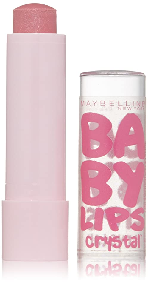 Maybelline New York Baby Lips Crystal Lip Balm, Mirrored Mauve, 0.15 Ounce