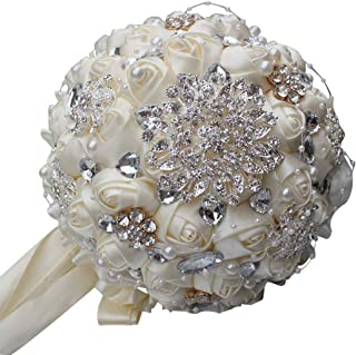 ivory brooch bouquet