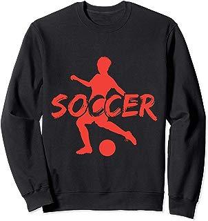 Great Penalty Kick Soccer Sweatshirt Soccer Player n Fan