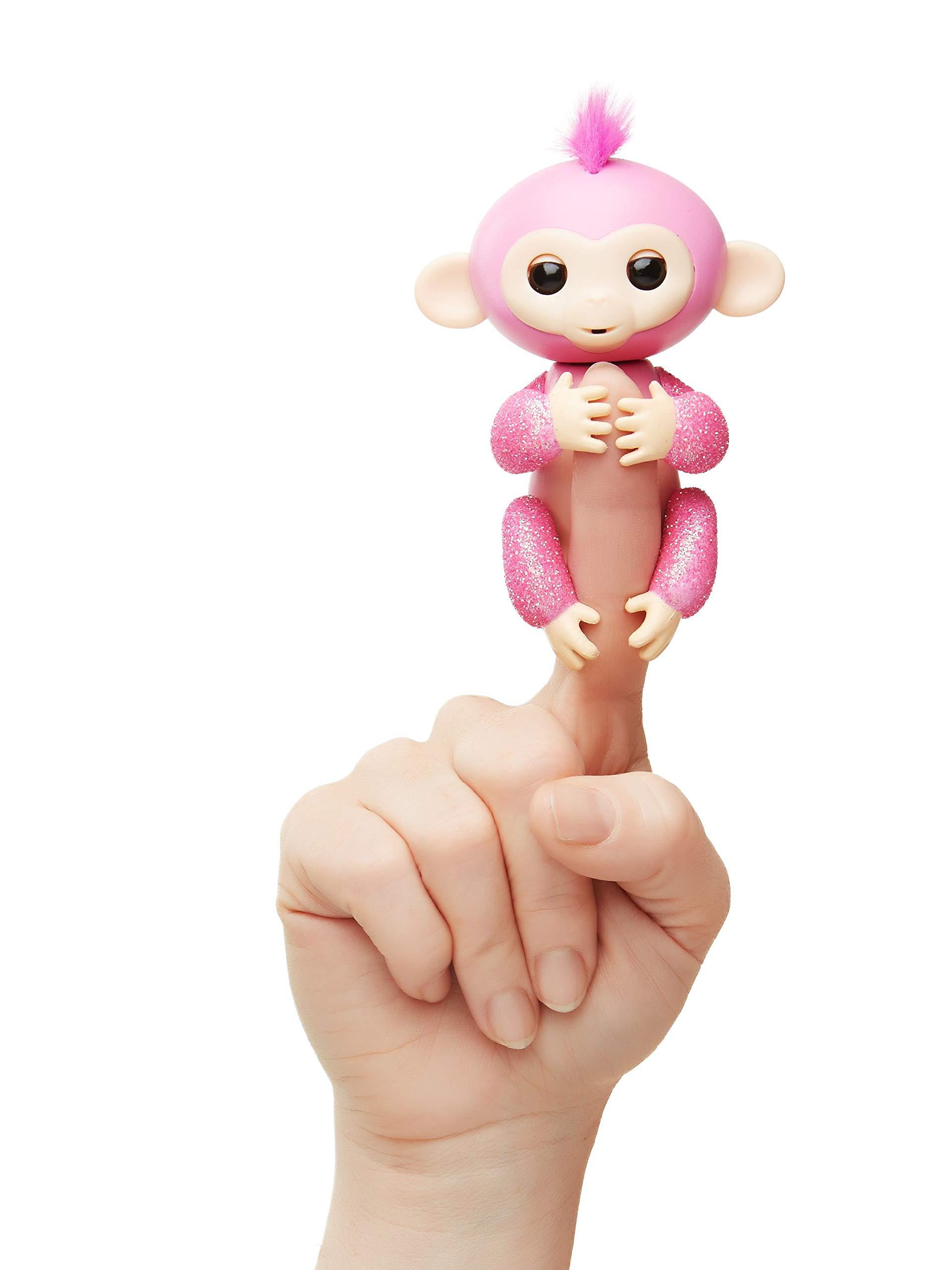 Fingerlings Glitter Monkey Interactive WowWee