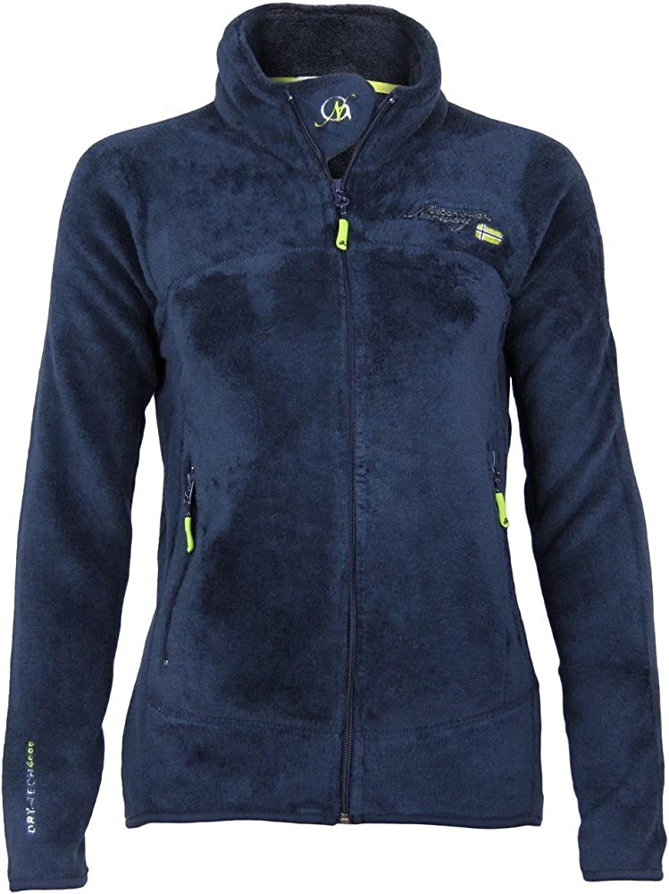 Geographical norway uniflore lady assort b, giacca,pile per donna,100% poliestere WN606F