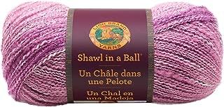 Lion Brand Yarn 828-304 Shawl in a Ball Yarn, One Size, Lotus Blossom