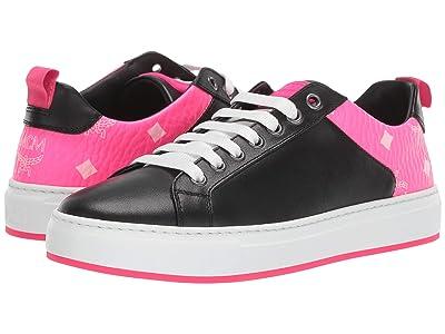 MCM Luccent Sneakers (Black) Women