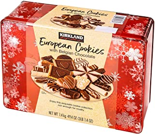 European Cookies LIMITED EDITITON - Kirkland Signature with Belgian, Chocolate, 49.4 Ounce