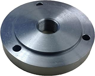 HHIP 3900-3212 3 Jaw Chuck 1-1/2-8 Threaded Backplate, 4